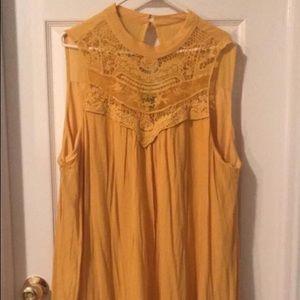 """As u wish"" yellow dress"